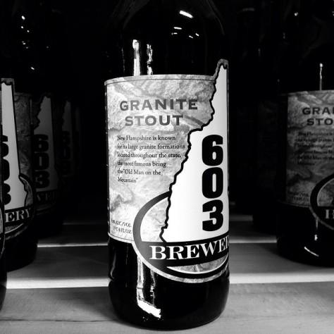 Обзор пива. 603 Granite Stout.