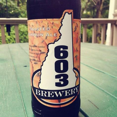 Обзор пива. 603 Toasted Pumpkin.