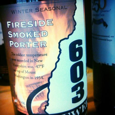 Обзор пива. 603 Fireside Smoked Porter.