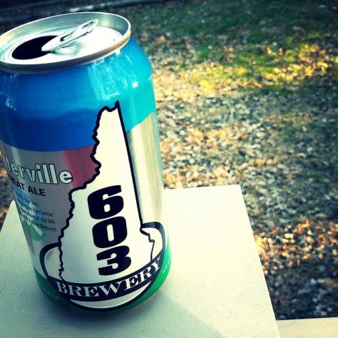 Обзор пива. 603 Waterville.