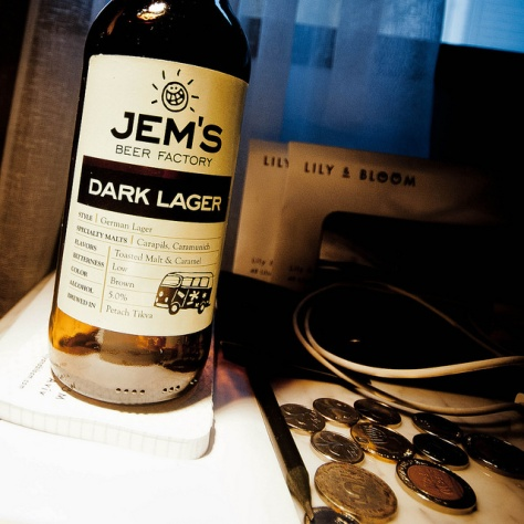 Обзор пива. Jem's Dark Lager.