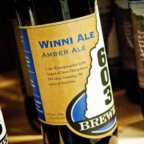 Обзор пива. 603 Winni Ale.