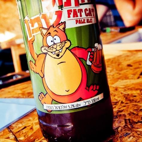 Обзор пива. Srigim Fat Cat.