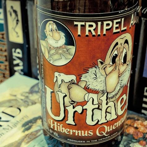 Обзор пива. Urthel Hibernus Quentum.