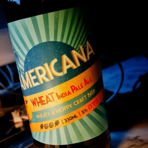 Обзор пива. Srigim Americana.