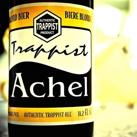 Обзор траппистского пива. Achel Blond.