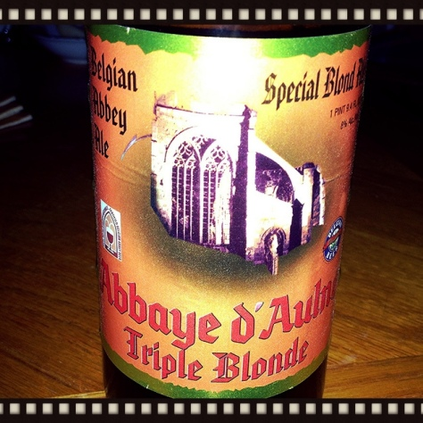 Обзор пива. Val De Sambre Abbaye D'Aulne Triple Blonde.