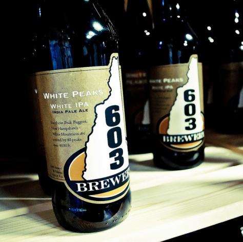 Обзор пива. 603 White Peaks.