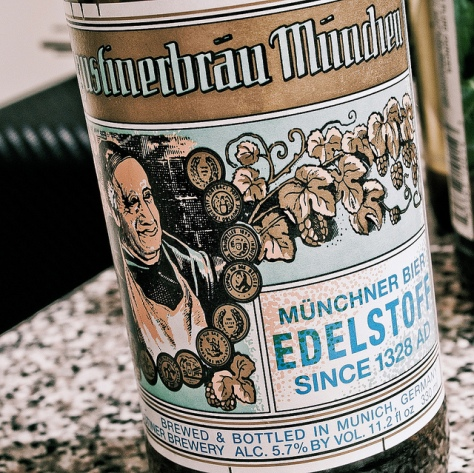 Обзор пива. Augustiner Bräu Edelstoff.
