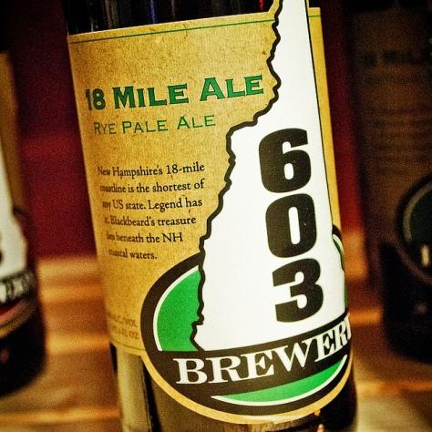 Обзор пива. 603 18 Mile.