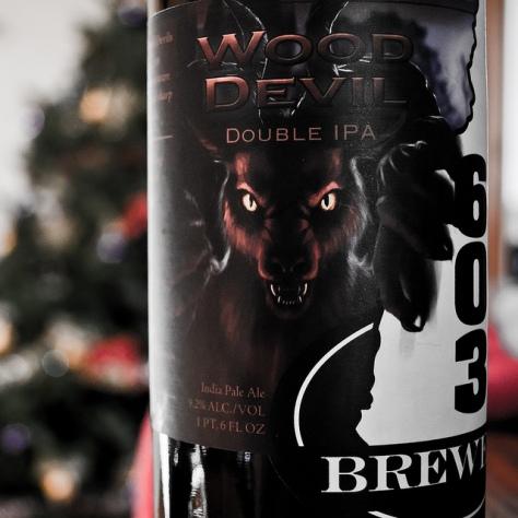 Обзор пива. 603 Wood Devil.
