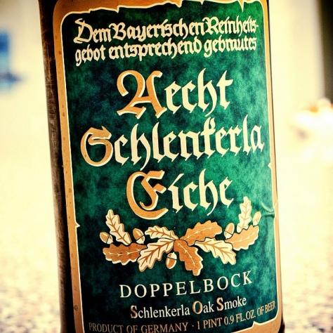 Обзор пива. Aecht Schlenkerla Eiche.