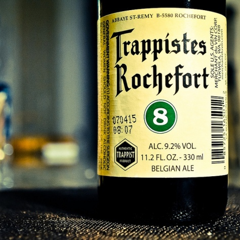 Rochefort. Rochefort 8. Обзор пива.