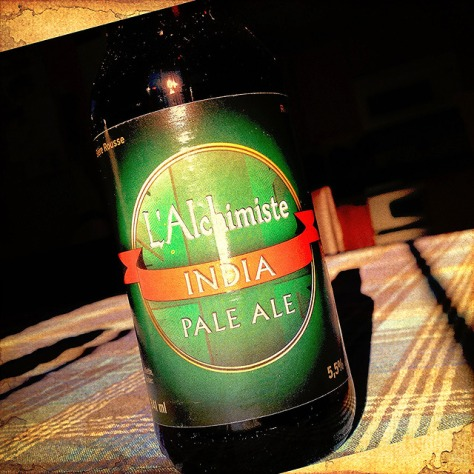 Обзор пива. L'Alchimiste India Pale Ale.