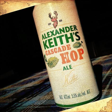 Обзор пива. Alexander Keith's Cascade Hop Ale.