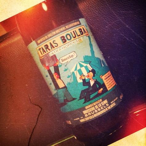 Обзор пива. De La Senne Taras Boulba.