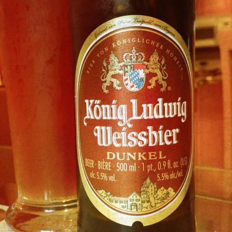 Обзор пива. Kaltenberg König Ludwig Weissbier Dunkel.