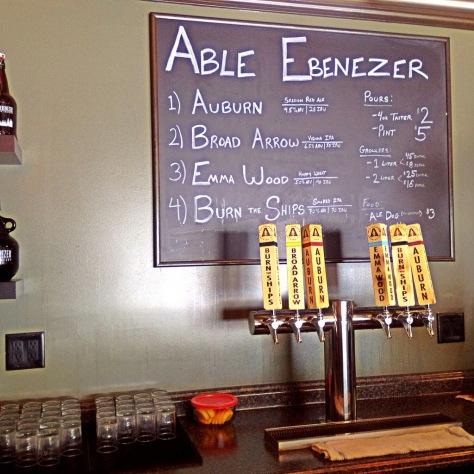 Крафтовая пивоварня. Able Ebenezer Brewery.