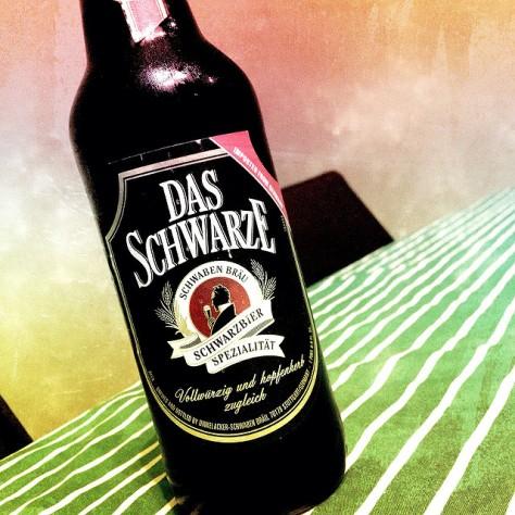Обзор пива. Dinkelacker-Schwabenbraeu Das Schwarze.