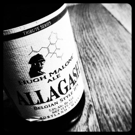 Обзор пива. Allagash Hugh Malone.