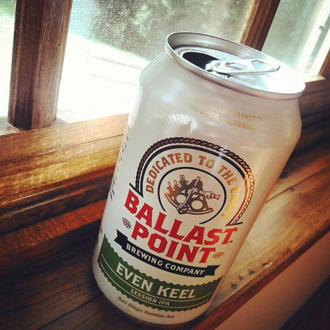 Обзор пива. Ballast Point Even Keel.