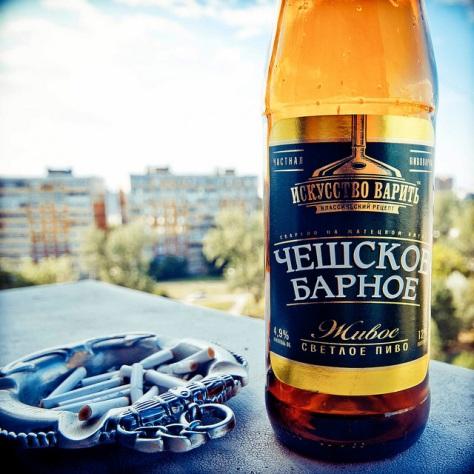 Обзор пива. Трёхсосенский Чешское Барное.