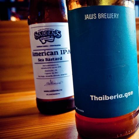 Обзор пива. Jaws Thaiberia.