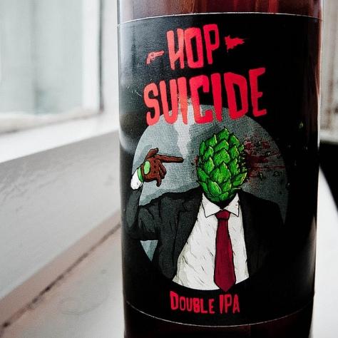 Обзор пива. Stammbeer Hop Suicide.