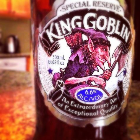 Обзор пива. Wychwood King Goblin.