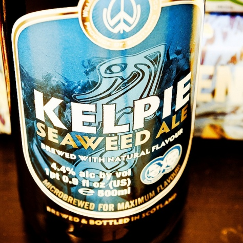 Обзор пива. Williams Brothers Kelpie Seaweed Ale.