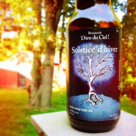 Обзор пива. Dieu Du Ciel Solstice D'hiver.