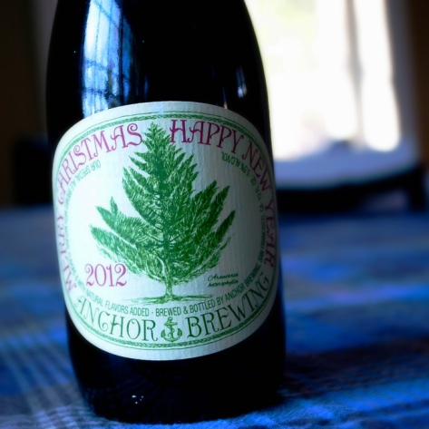 Обзор пива. Anchor Christmas Ale 2012.