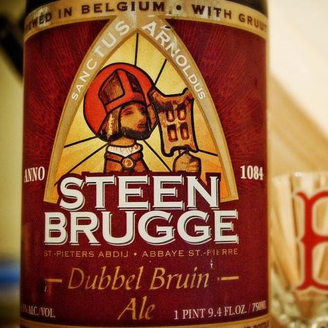 Обзор пива. Steenbrugge Dubbel Bruin.