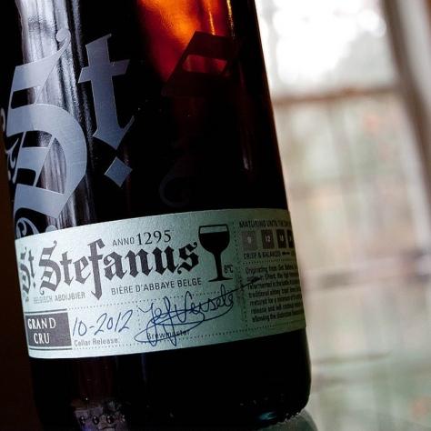 Обзор пива. Steenberge St. Stefanus Grand Cru.