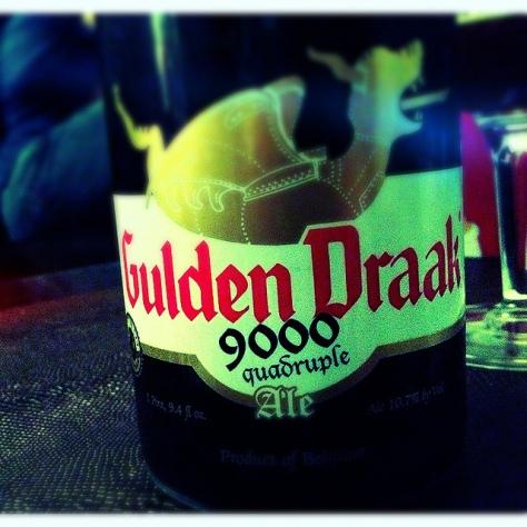 Обзор пива. Steenberge Gulden Draak 9000.