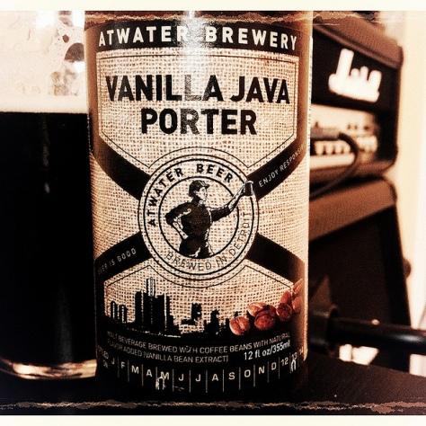 Обзор пива. Atwater Vanilla Java Porter.