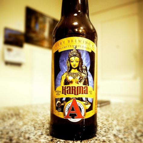 Обзор пива. Avery Karma.