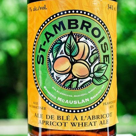 Обзор пива. McAuslan St-Ambroise Apricot Wheat Ale.