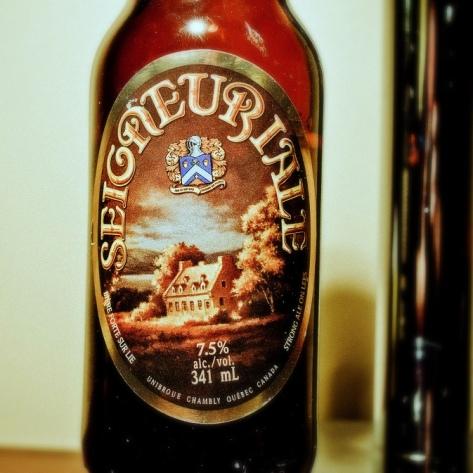 Обзор пива. Unibroue La Seigneuriale.