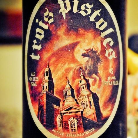 Обзор пива. Unibroue Trois Pistoles.