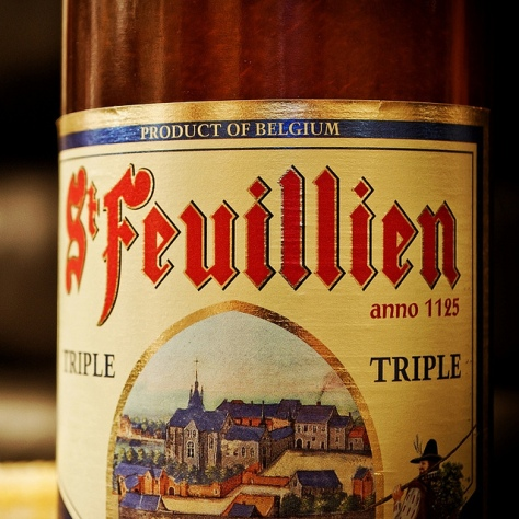 Обзор пива. St. Feuillien Triple.