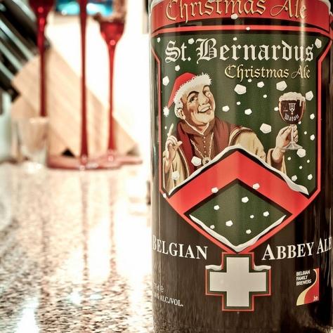 Обзор пива. St. Bernardus Christmas Ale.