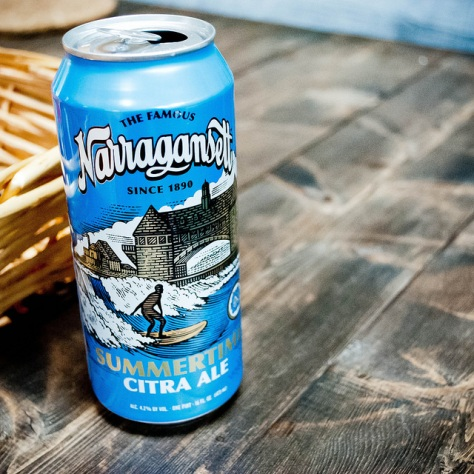 Обзор пива. Narragansett Summertime Citra Ale.