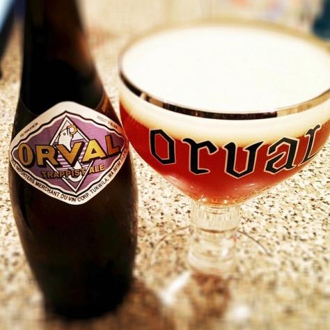 Траппистское пиво. Trappist beer. Orval.