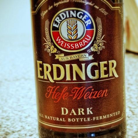 Обзор пива. Erdinger Weissbier Dunkel.
