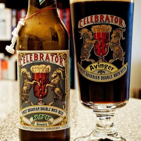 Обзор пива. Ayinger Celebrator.