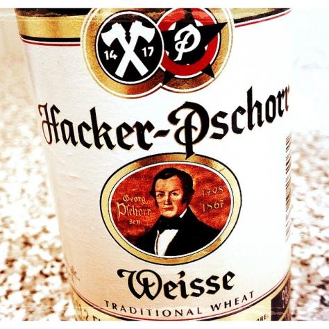 Обзор пива. Hacker-Pschorr Hefe Weisse.