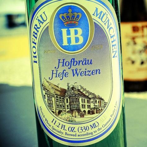Обзор пива. Hofbräu Hefeweizen.