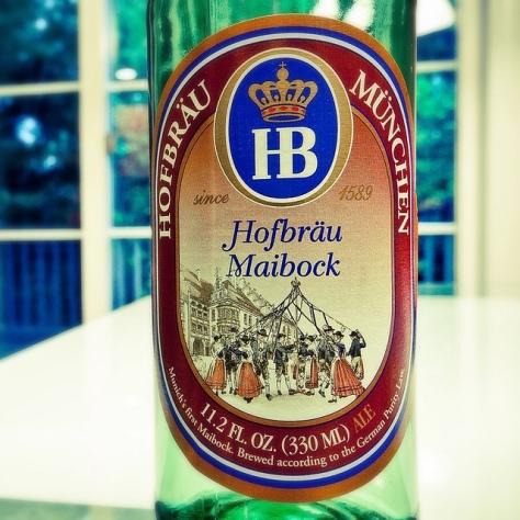Обзор пива. Hofbräu Maibock.