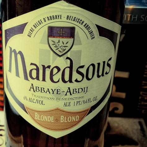 Обзор пива. Duvel Maredsous 6 Blonde.